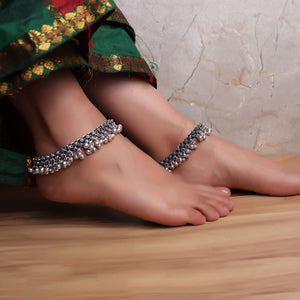 Anklet,The Groove Anklets (Pair of 2) - Cippele Multi Store