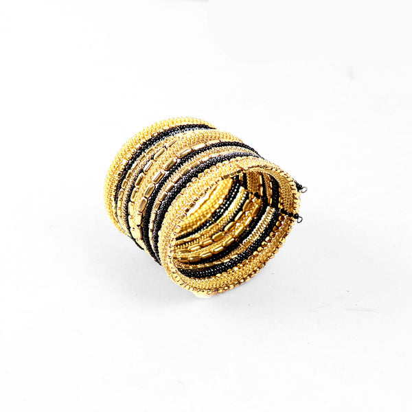 Hand Cuff,Cast a Spell Bangle Set in Golden hue - Cippele Multi Store