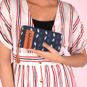 Wallet,The Indigo Tassel Wallet - Cippele Multi Store