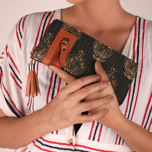 Wallet,The Flacon Tassel Wallet - Cippele Multi Store