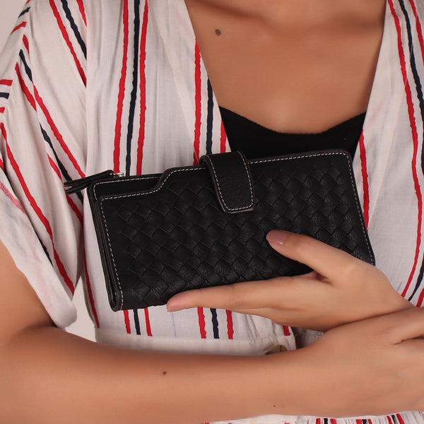 Wallet,The Black Cheese Bit wallet - Cippele Multi Store