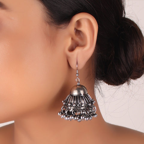 Earrings,Alluring Vine Jhoomar Earring - Cippele Multi Store