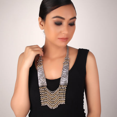 Necklace,The Egyptian Beaded Princess Necklace - Cippele Multi Store