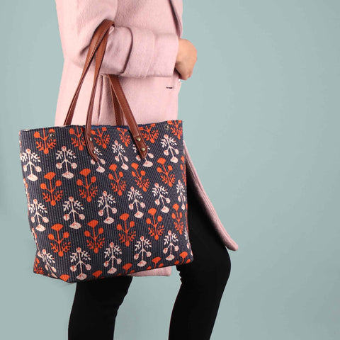 The Blazing dotted Doll Tote Bag