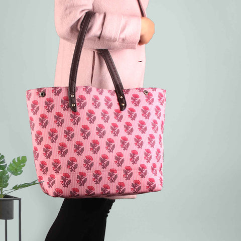 The Peony Bouquet Tote Bag