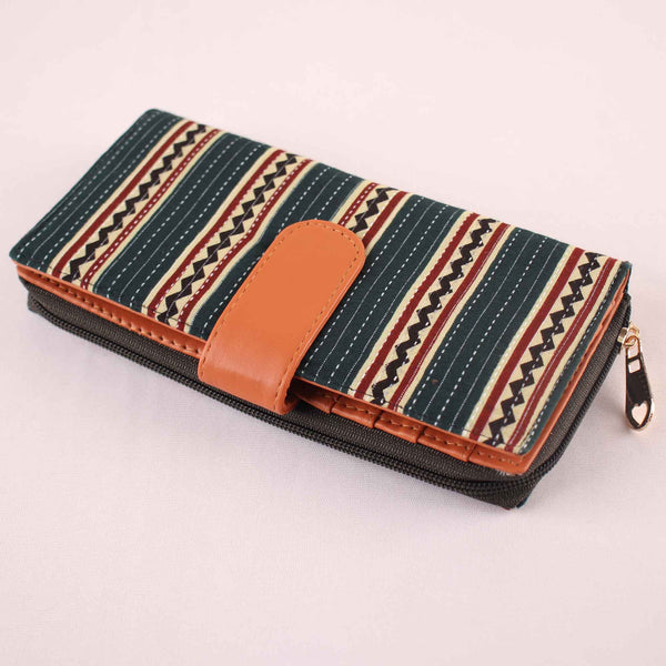 Wallet,The Suhana Embroidered Wallet - Cippele Multi Store