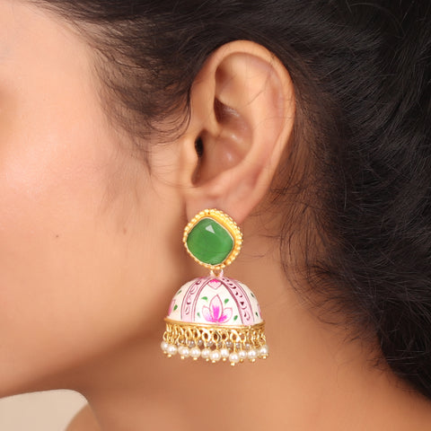 Hand painted Exquisite Jhoomar