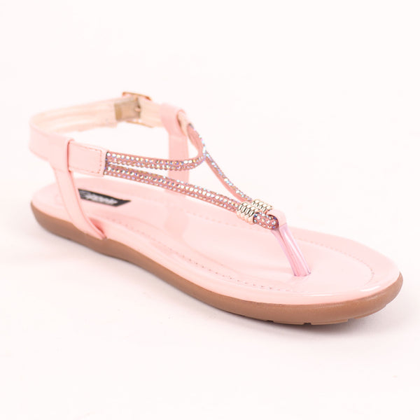 Foot Wear,The Energetic Flats in Pink - Cippele Multi Store