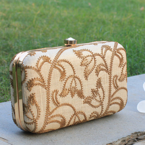 Clutch,Golden Dust Clutch - Cippele Multi Store