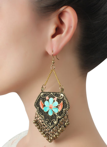 Earrings,Two Tone Jhumkas - Cippele Multi Store