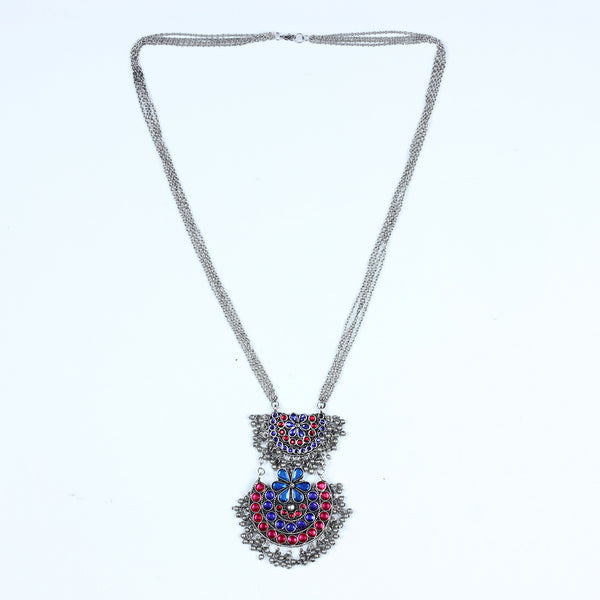 Necklace,Layered Half Moon Necklace - Cippele Multi Store