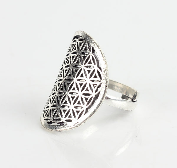 Ring,Flower Pattern Ring - Cippele Multi Store