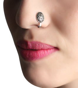 Nose Pin,Flower Charm Nose Pin - Cippele Multi Store