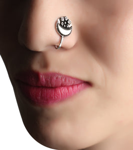 Nose Pin,Half Moon Nose Pin - Cippele Multi Store