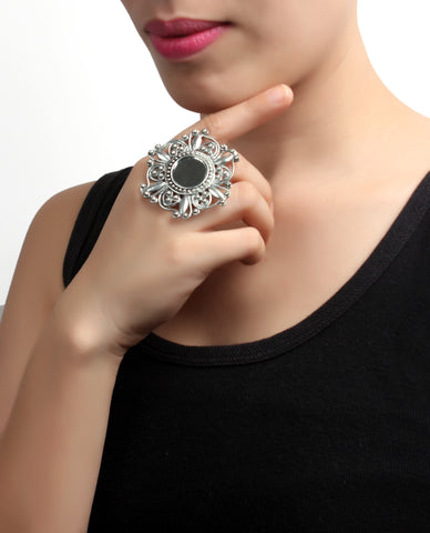 Ring,Mirror Work Ring - Cippele Multi Store