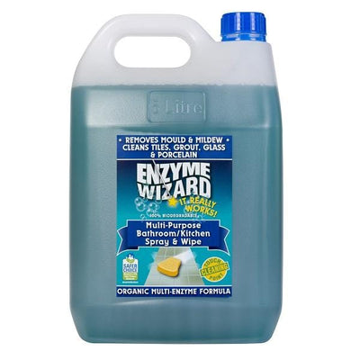 Enzyme Wizard | Enzyme Wizard Bathroom and Kitchen Spray and wipe | Crystalwhite Cleaning Supplies Melbourne