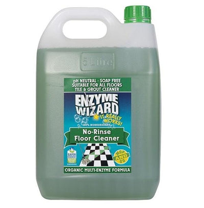 Enzyme Wizard | Enzyme Wizard No Rinse Floor Cleaner | Crystalwhite Cleaning Supplies Melbourne