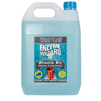 Enzyme Wizard | Enzyme Wizard Wheelie Bin Cleaner | Crystalwhite Cleaning Supplies Melbourne