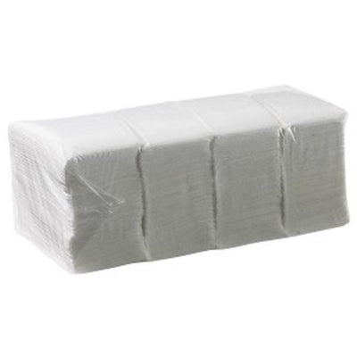 Caprice | Duro 1 Ply Lunch Napkins GT Fold (White) 3000 | Crystalwhite Cleaning Supplies Melbourne