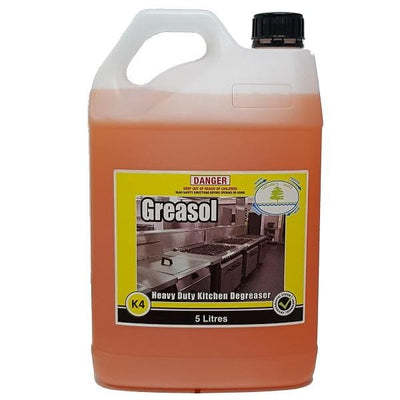 Tasman | Greasol 5Lt or 15Lt Heavy Duty Degreaser | Crystalwhite Cleaning Supplies Melbourne