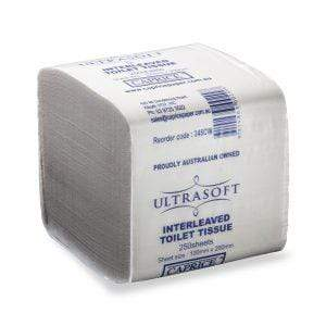 Caprice | Caprice Ultrasoft Interleaved Toilet Paper 36 Packets X 250 Sheets | Crystalwhite Cleaning Supplies Melbourne
