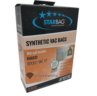 Starbag | AF1073S Synthetic Vacuum Cleaner Bag for Hako | Crystalwhite Cleaning Supplies Melbourne