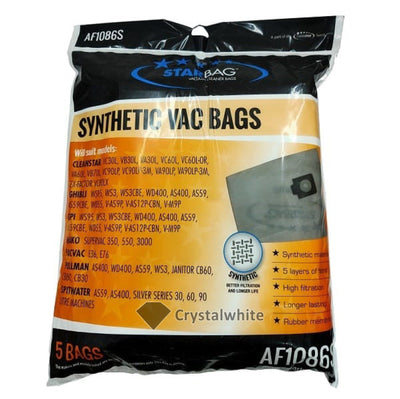 Starbags AF1086S Synthetic Vacuum Cleaner Bag