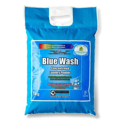Tasman | Blue Wash Antibacterial Laundry Powder 5Kg or 20Kg Biodegradable | Crystalwhite Cleaning Supplies Melbourne