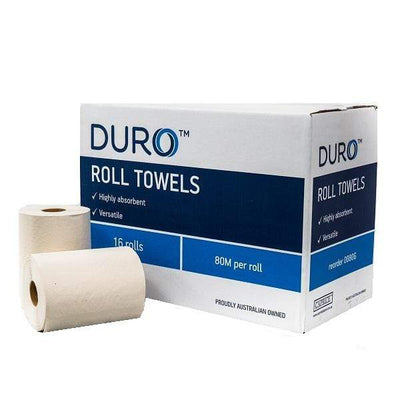 Caprice | Caprice Duro Roll Hand Towel 16 X 80 metre | Crystalwhite Cleaning Supplies Melbourne