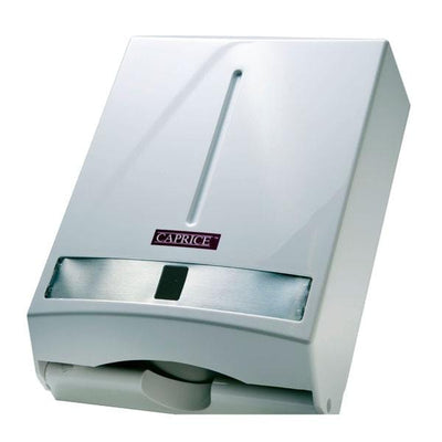 Caprice | Caprice Interleaved Hand Towel Dispenser | Crystalwhite Cleaning Supplies Melbourne