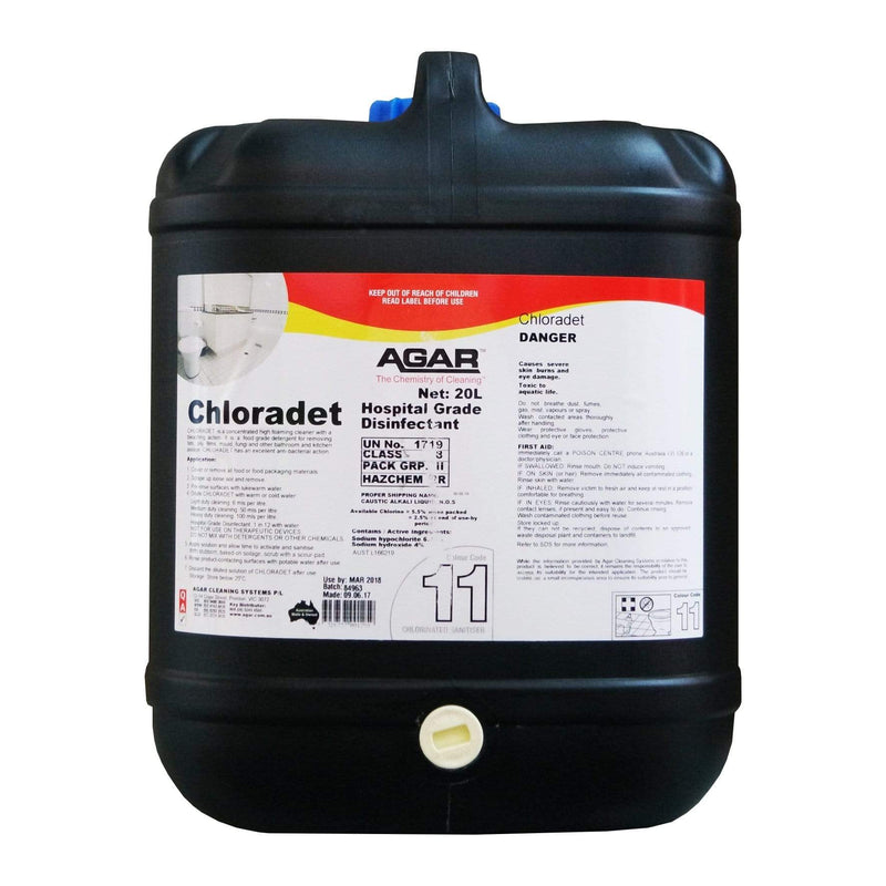 Agar Chloradet 5Lt or 20Lt concentrated thick gel high ...
