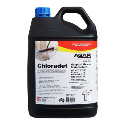 Agar | Agar Chloradet 5Lt or 20Lt | Crystalwhite Cleaning Supplies Melbourne