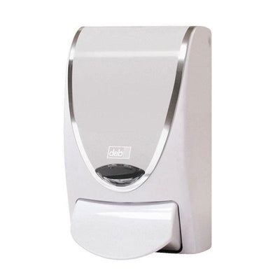 DEB | Deb Chrome Border 1L Dispenser | Crystalwhite Cleaning Supplies Melbourne