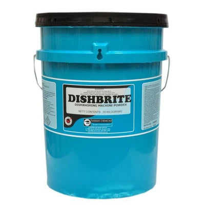 Tasman | Dishbrite Auto Dishwashing Powder | Crystalwhite Cleaning Supplies Melbourne