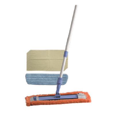 Oates | Oates Triple Action Flat Mop Set | Crystalwhite Cleaning Supplies Melbourne