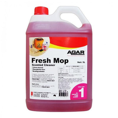 Agar | Agar Fresh Mop Biodegradable | Crystalwhite Cleaning Supplies Melbourne