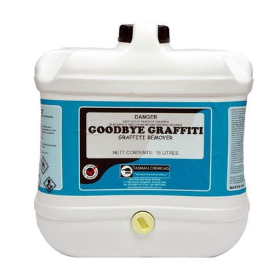 Tasman | GoodBye Graffiti Remover 500g, 1Lt or 15Lt | Crystalwhite Cleaning Supplies Melbourne