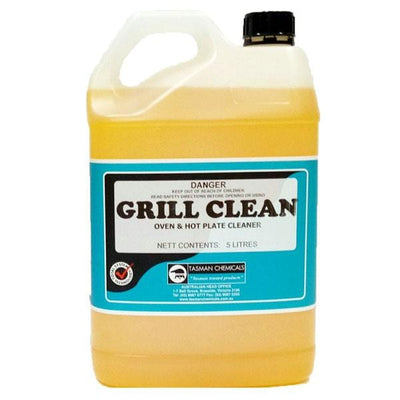 Tasman | Grill Clean 5Lt or 15Lt Oven, Canopy & Range Hood Cleaner Degreaser | Crystalwhite Cleaning Supplies Melbourne