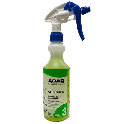 Agar | Counter Flu 500ml Ready to Use | Crystalwhtie Cleaning Supplies Melbourne