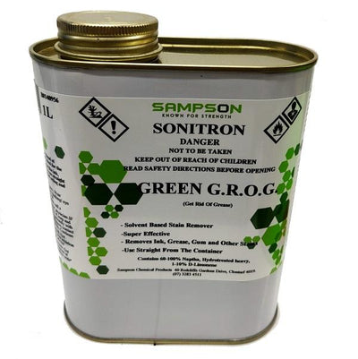 Sonitron | Green GROG. 1Lt Carpet Cleaner (Pre Spray) | Crystalwhite Cleaning Supplies Melbourne
