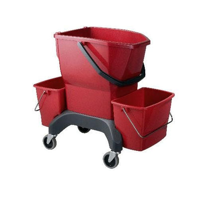 Oates | Oates Ezy Ergo Bucket 25 Litre with Presser | Crystalwhite Cleaning Supplies Melbourne