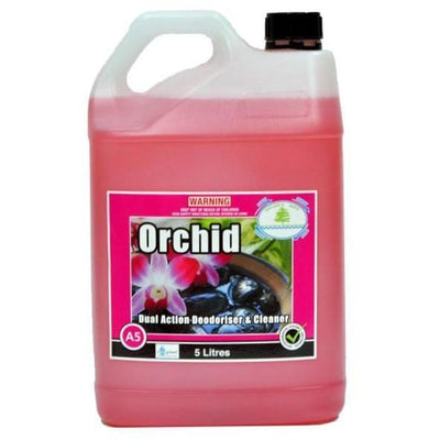 Tasman | Orchid Cleaner and Air Freshener 5Lt to 15Lt | Crystalwhite Cleaning Supplies Melbourne