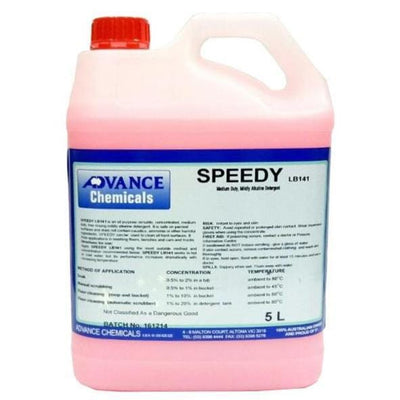 Advance Chemicals | Speedy Alkaline Detergent 5Lt or 25Lt | Crystalwhite Cleaning Supplies Melbourne