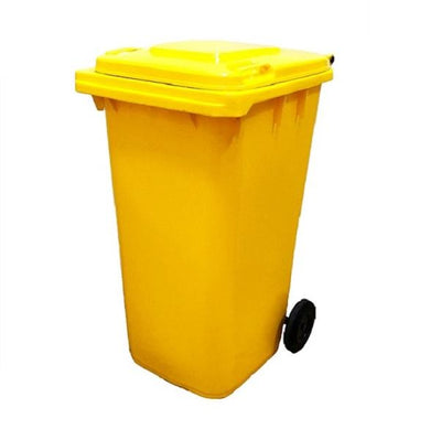 Crystalwhite Cleaning Supplies | Wheelie Bin 80Lt Multi Colour | Crystalwhite Cleaning Supplies Melbourne