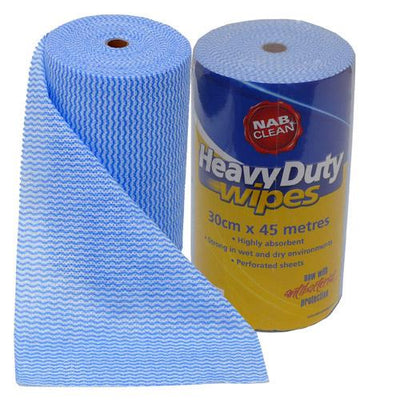 NAB HeavyDuty Roll Multi Purpose Chux Wipes