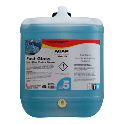 Agar | Agar Fast Glass 5Lt | Crystalwhite Cleaning Supplies Melbourne