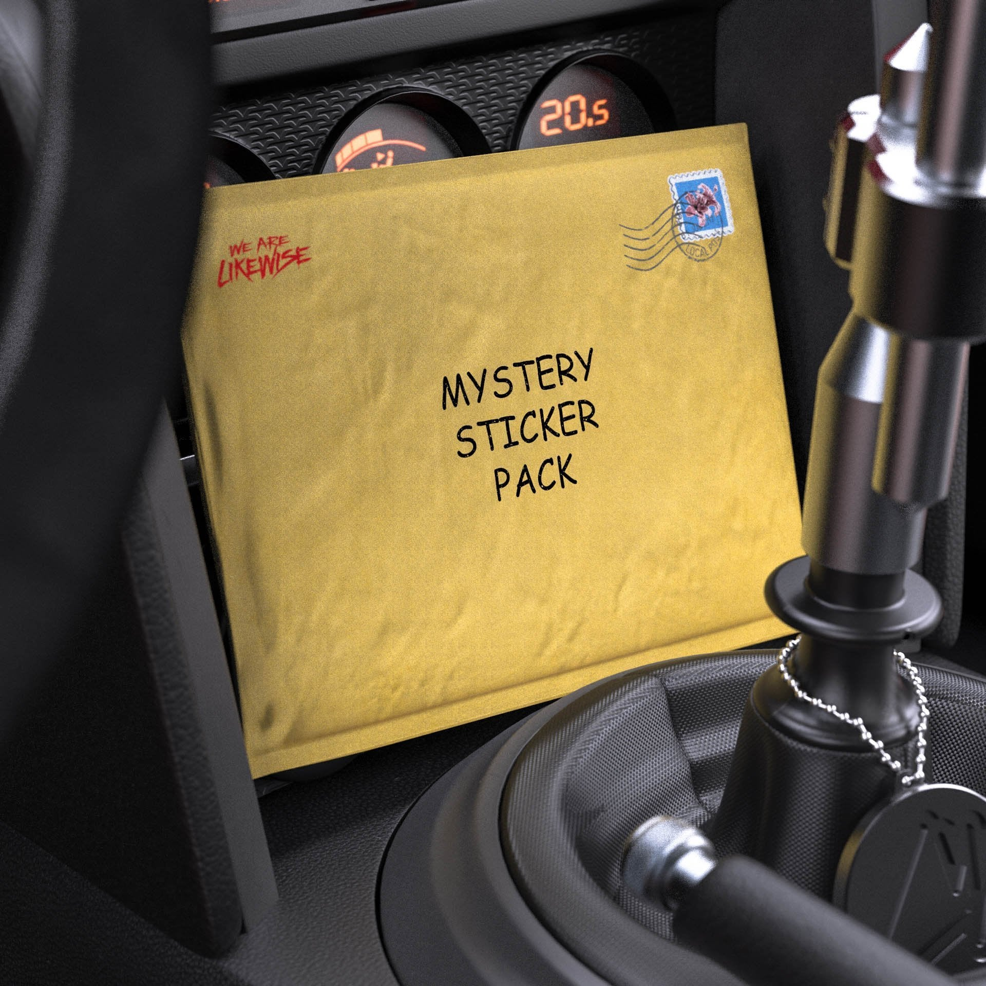 Mystery Sticker Pack