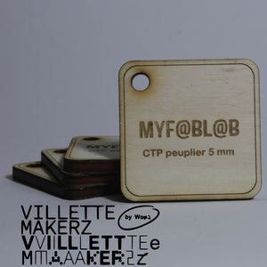 Contreplaqué - Villette Makerz