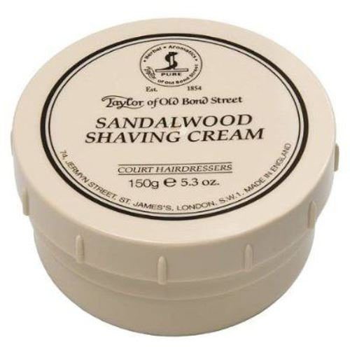 Taylors of Old Bond Street Shaving Cream 150g, Sandalwood