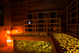 Baltic amber infrared sauna, innovative Amber Relax Luxus SPA,  amber mosaic tiles - UAB Amber